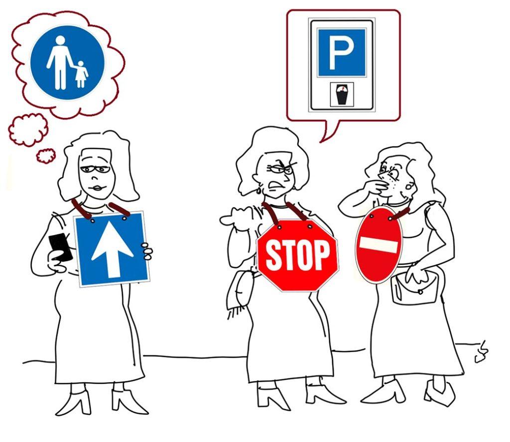 Zaklatás második rész karikatúra