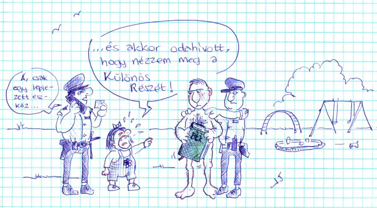 Karikatúra: fedett eszköz