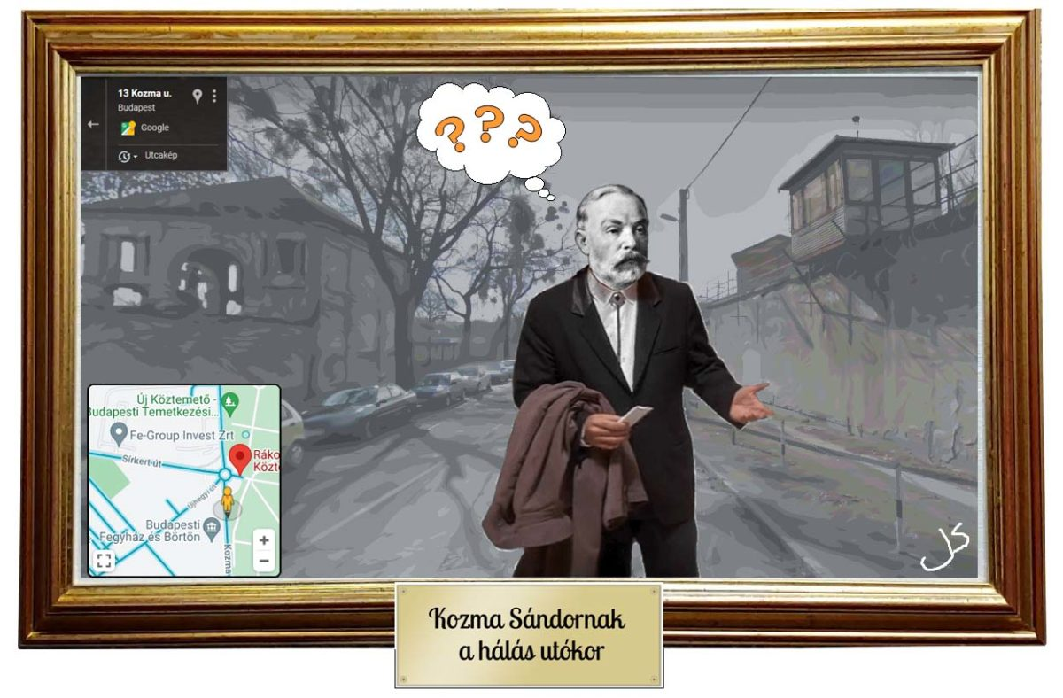 Kozma Sándor a Kozma utcában